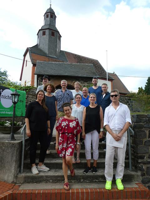 Kunst in Kirchen 2019 Gruppenbild