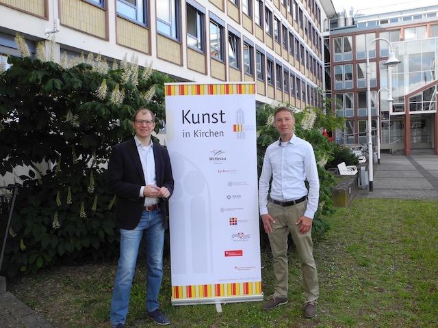 Landrat Jan Weckler und Joachim Albert